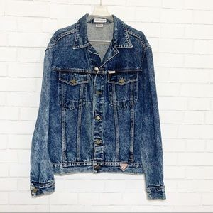 Vintage Georges Marciano for Guess Jean Jacket XL